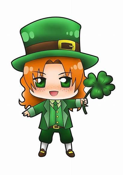 Leprechaun Clipart Leprechauns Female Ireland Cartoon Drawings