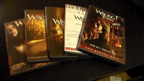 The Wrong Turn Movie Series (hd