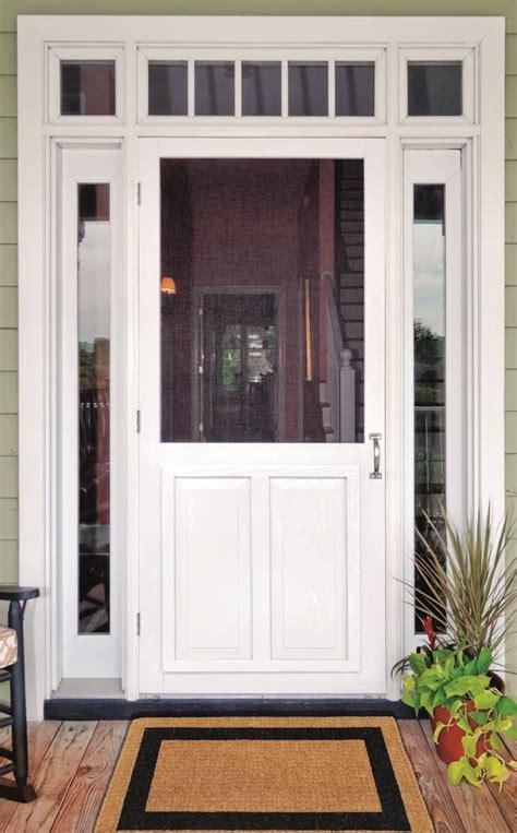 Vinyl Doors by Screen Doors Solid Vinyl Wood And Pressure Treated
