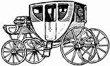 Clipart Stagecoach Coach Stage Carriage Drawing Horse Drawn Clip Horses Cart Etc Passenger Cliparts Clipground Usf Edu Medium Getdrawings Library sketch template