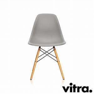 Vitra Eames Stuhl : vitra eames plastic side chair mauve hellgrau ahorn neue h he ~ A.2002-acura-tl-radio.info Haus und Dekorationen