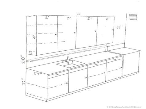 typical kitchen base cabinet dimensions  design kitchen