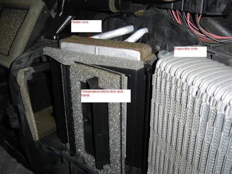 replace ford temperature blend door owner  manual