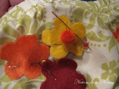Notions From Nonny Fall Inspired Skirt & Felt Purse