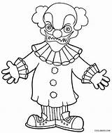 Clown Coloring Goosebumps Pages Printable Scary Evil Killer Drawing Joker Face Clowns Draw Getdrawings Getcolorings Cool2bkids Blank Colorings Simple Colo sketch template