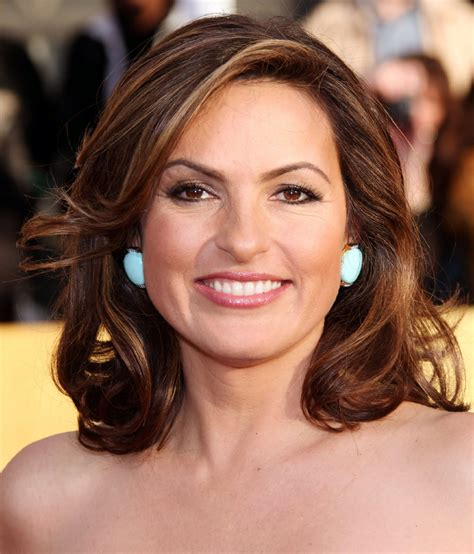 celebrity whereabouts mariska hargitay    annual sag awards