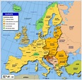 Map of States of the European Union - Nations Online Project