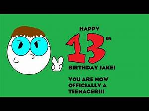 Happy 13th Birthday Jake! + Update - YouTube