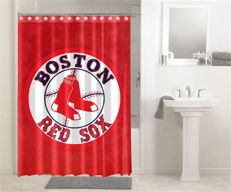 Boston Red Sox Mlb Baseball League 444 Shower Curtain Home Decorators Catalog Best Ideas of Home Decor and Design [homedecoratorscatalog.us]