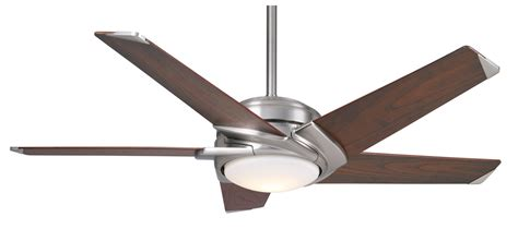 casablanca led stealth ceiling fan ca 59090 in brushed