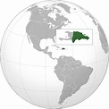 File:Dominican Republic (orthographic projection).svg ...
