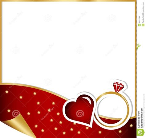engagement card christmas concept stock images image