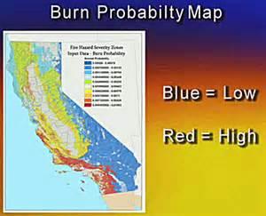 California Fire Zone Map