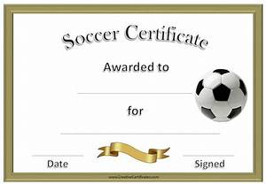 free editable soccer certificates customize online With soccer certificate templates for word