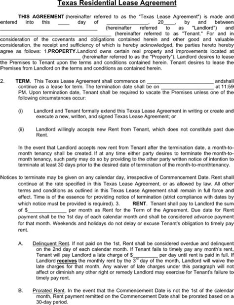 delaware rental agreement   formtemplate
