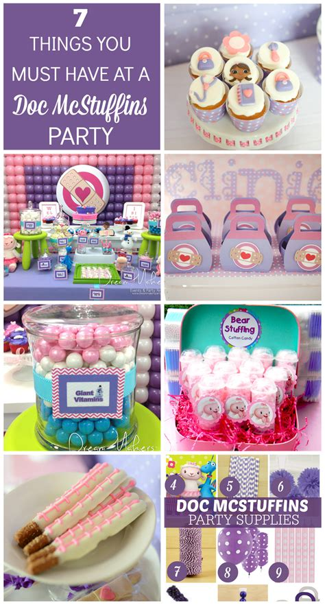 Doc Mcstuffins Decorations - 7 things you must at a doc mcstuffins birthday
