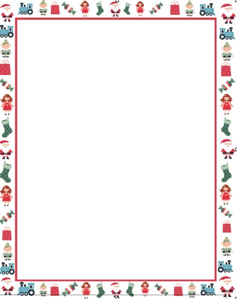letters  santa   template    girls