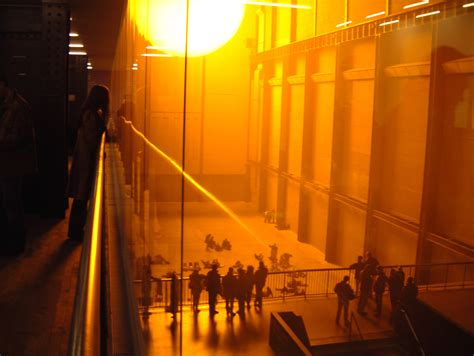 ambitious installation recreated sun inside of museum delivery