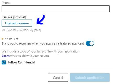 How To Upload A Resume by How To Upload Your Resume On Linkedin In 2019 Exles