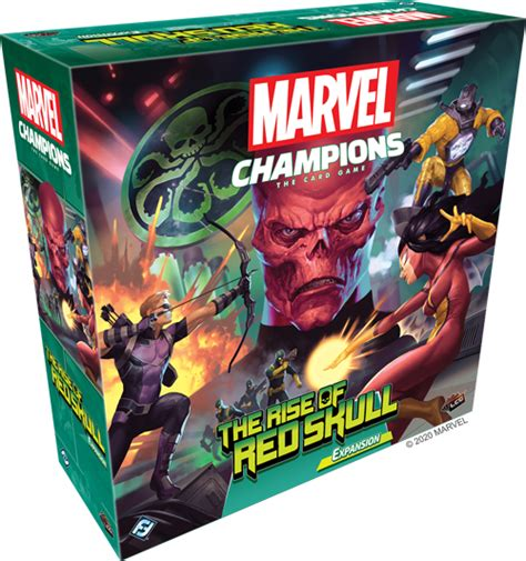 face red skull  upcoming marvel champions expansion