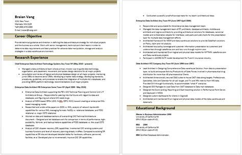 Data Architect Resume by Enterprise Data Architect Resume Resume Templates
