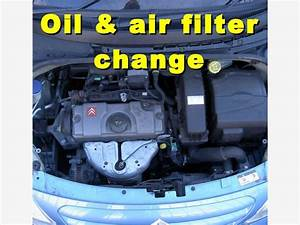 Olie  Oliefilter En Luchtfilter Wijzigen Op Een Citro U00ebn C3