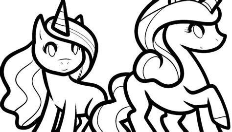 dois unicornios  colorir criando  apego
