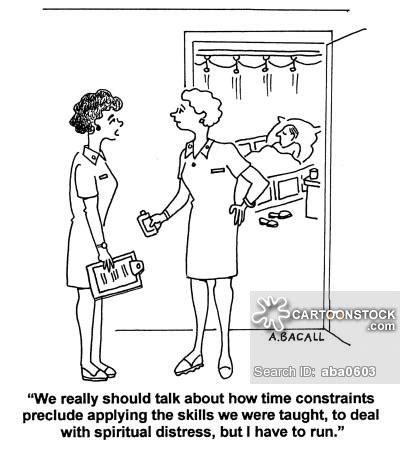 Hospital Nurse Comic Cartoons