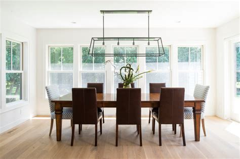 Modern Cape Cod  Beach Style  Dining Room Minneapolis