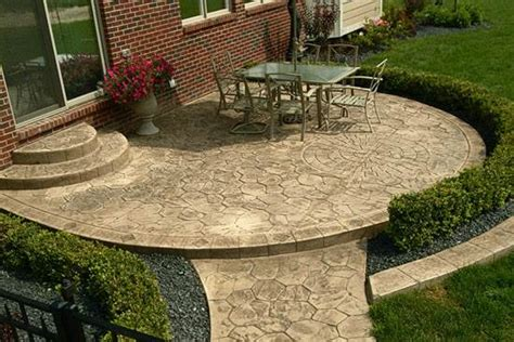 Stone Patio Designs Ideas  Johnson Patios Design Ideas