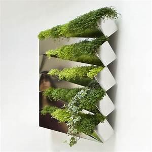 Blumentopf Für Die Wand : miroir en herbe wand blumentopf f r die wand edelstahl by compagnie made in design ~ Eleganceandgraceweddings.com Haus und Dekorationen