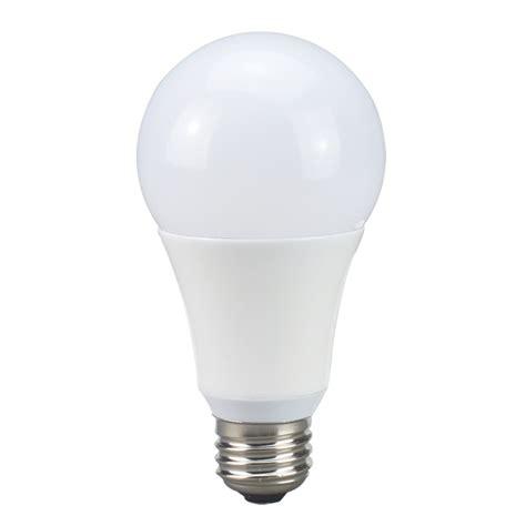 utilitech pro light bulbs shop utilitech pro 75 w equivalent dimmable warm white a21