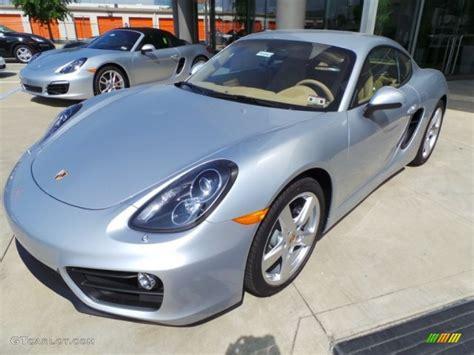 Rhodium Silver Metallic 2015 Porsche Cayman Standard