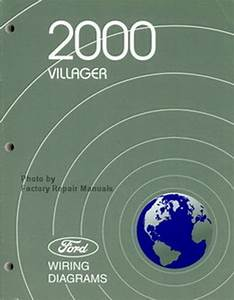 2002 Mercury Villager Van Wiring Electrical Wiring Diagram Shop Manual Ewd Evtm