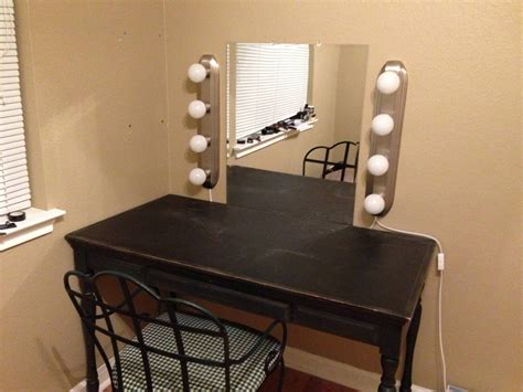 tips exciting vanity desk  lights  relax