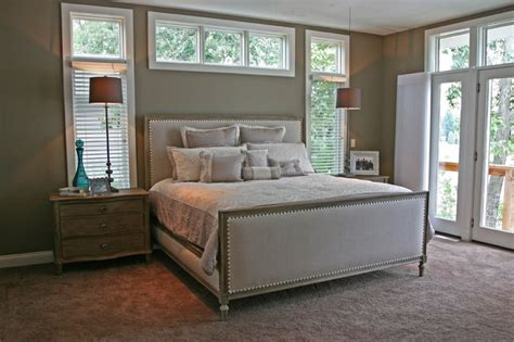 lake house contemporary bedroom milwaukee  interior  home design