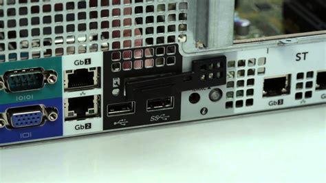 poweredge  remove install idrac port card youtube