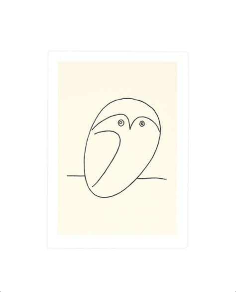 Bild Poster Bestellen by Pablo Picasso Eule Poster Kunstdruck Bei Germanposters De