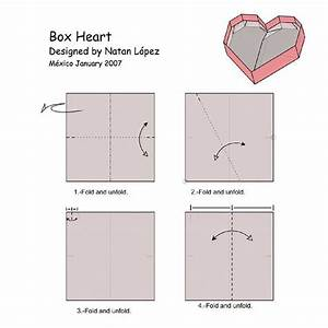 Origami Heart Box Diagram  U00ab Embroidery  U0026 Origami