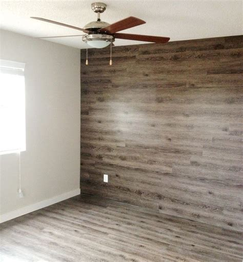 wood plank accent wall walls  hold   pinterest