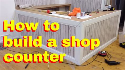 inexpensive counter tops how to build a shop counter shop fitting diy how to