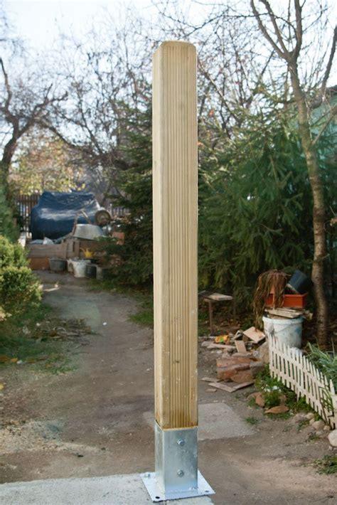 attach deck posts ep  diy deck concrete steps