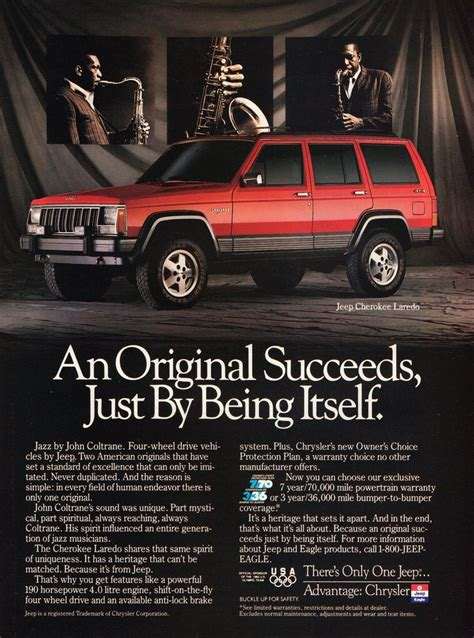 jeep cherokee ads 12 best jeep ads 1990s images on pinterest 1990s jeep