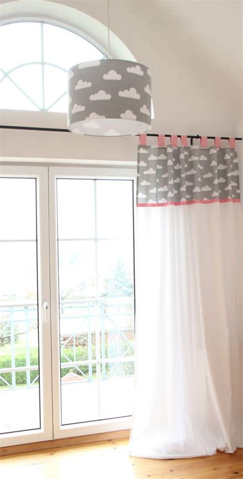 Gardinen Für Babyzimmer by Gardinen Vorh 228 Nge Vorhang Wolken Grau Wei 223 140 X 250