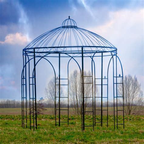 garten deko roller garten pavillon metall pavillon exclusiv gartenpavillon