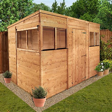 10 X 6 Shed Tongue And Groove by Billyoh Tongue And Groove Pent Garden Shed 10ft X 6ft At