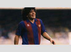 Diego Maradona admits he was at Barcelona when he started