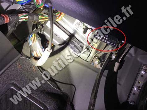 obd connector location  hyundai getz