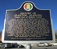 History of Clayton Marker (Clayton, Alabama)   Flickr ...