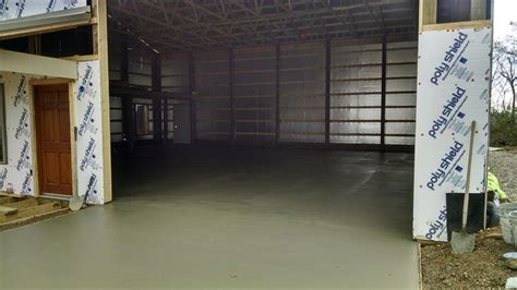 Pole Barn Concrete Floor Cost by 40 X48 Pole Barn Build Pirate4x4 4x4 And Road